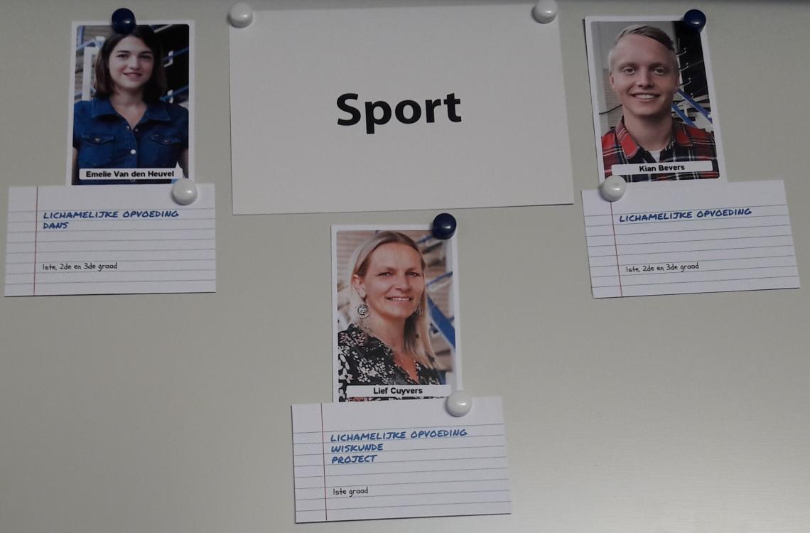 vakgroep sport