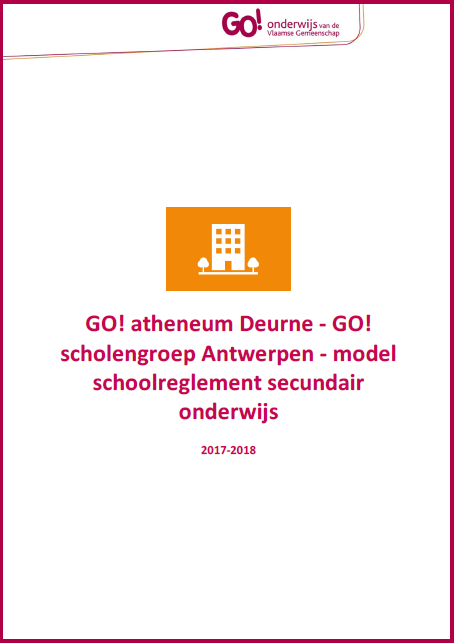 Schoolreglement 2017-2018